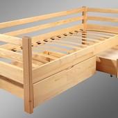 Кровать нота детская 80х190/200. Бесплатная доставка, наложений платеж