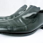 Мужские стильные фирменные туфли Marks & Spencer  размер 11/46.