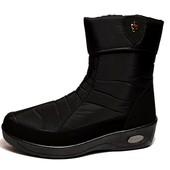 Полусапожки ботинки женские зимние - Украина (БР-03-3)