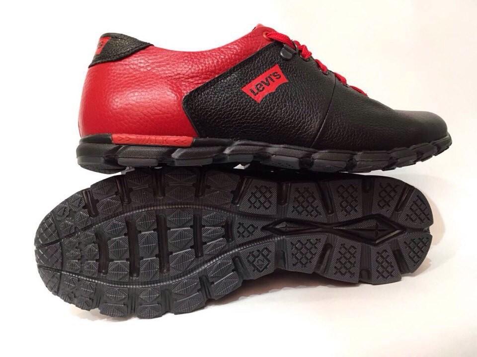 Мужские кожаные кроссовки-туфли(чоловічі кроссівки-туфлі)levis фото №1 2c4bb2a1bd9aa