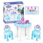 Детский столик и два стульчика для девочек 901-348