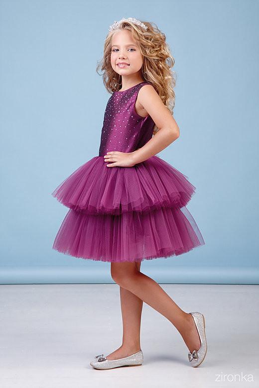 Нарядные платья для девочек фото №1