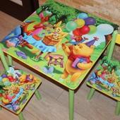 Столик з 2 стільчиками