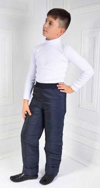Теплые штанишки на зиму фото №1