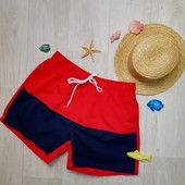 Мужские шорты для плавания красные