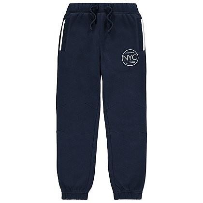 Штаны с начесом  джоггеры утепленные брюки на мальчика 7-8лет фото №1