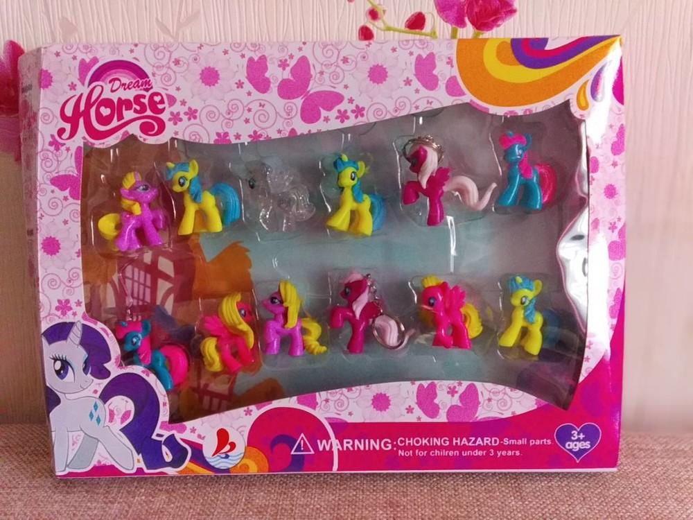 Набор игрушек в коробке май литл пони ( my little pony ),12 шт фото №1