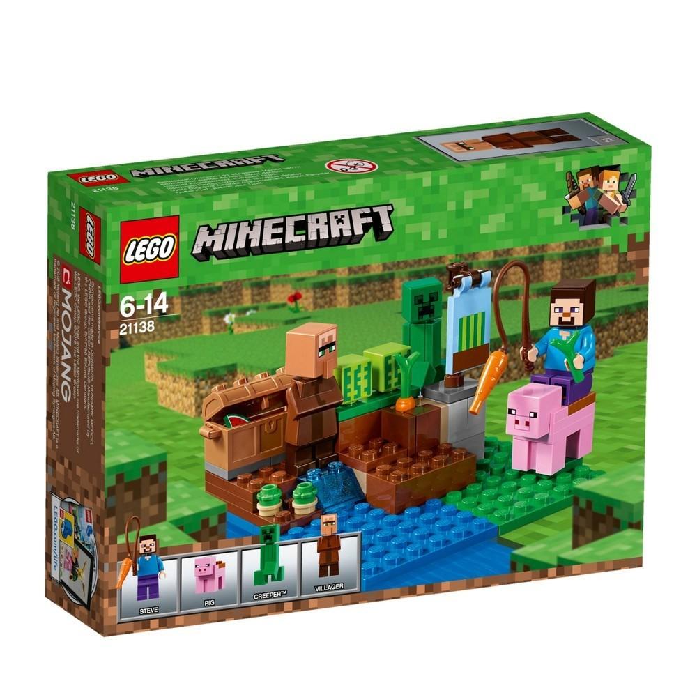 Lego minecraft баштан 21138 фото №1