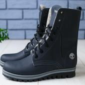 Зимние ботинки из натуральной кожи, ks-4152-1w
