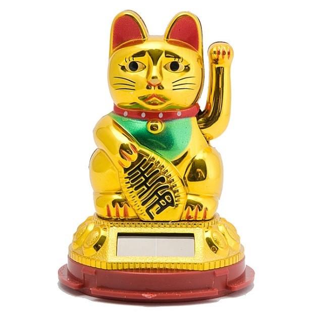 Фэн шуй манэки-нэко кошка для привлечения богатства! фото №1