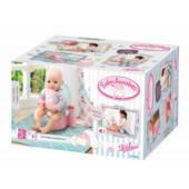 Baby Annabell 700723 fancy toilet Zapf Creation интерактивный горшок унитаз Беби Анабель