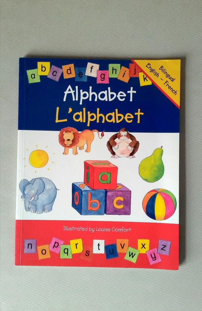 Новая! алфавит от 2х лет на двух языках! фото №1