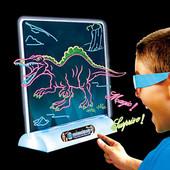 Доска для рисования magic drawing board 3d,светящаяся доска для рисования! одна на выбор!