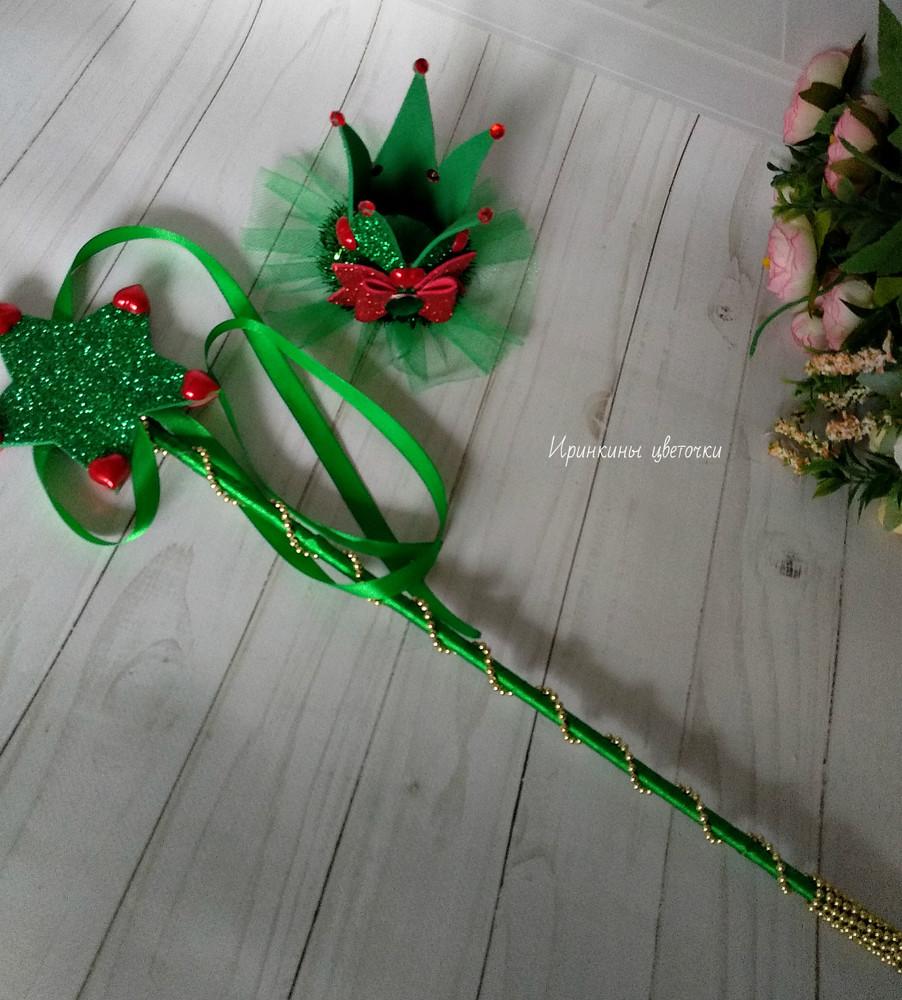 Корона и волшебная палочка для елочки фото №1