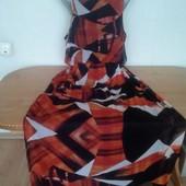 Шикарное платье в пол для шикарной дамы р. 18