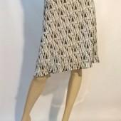18 uk  женская юбка с оригинальным принтом девушек