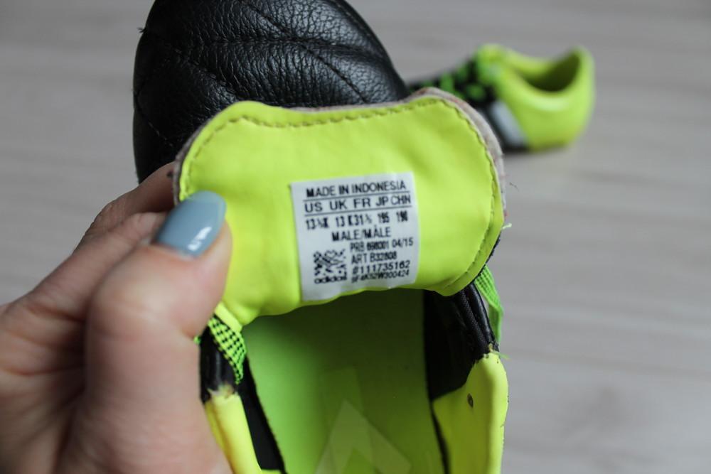 Бутсы adidas оригинал ace 15.3 lth fg\ag b32808 jr фото №9