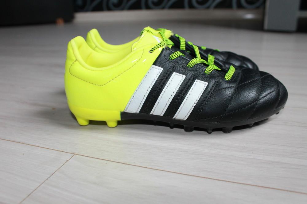 Бутсы adidas оригинал ace 15.3 lth fg\ag b32808 jr фото №3