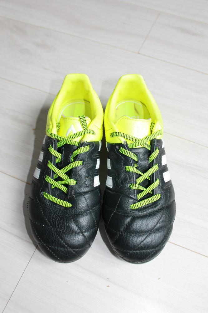 Бутсы adidas оригинал ace 15.3 lth fg\ag b32808 jr фото №4