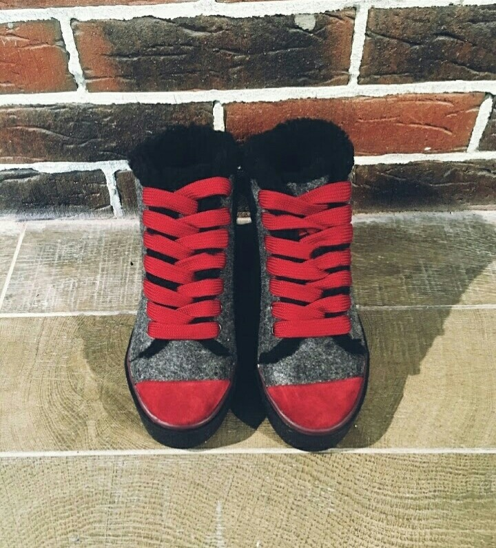 Ботинки кеды зимние войлочные 36-41 р. фото №6