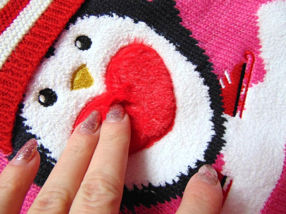 George. размер 3-4 года. новый яркий новогодний свитер для девочки фото №9
