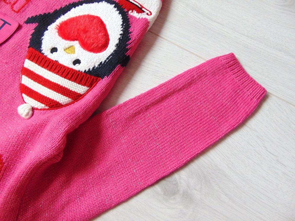 George. размер 3-4 года. новый яркий новогодний свитер для девочки фото №14