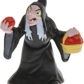 Распродажа - Злая королева с яблоком 6.5см от Bullyland ведьма баба яга Белоснежка и семь гномов