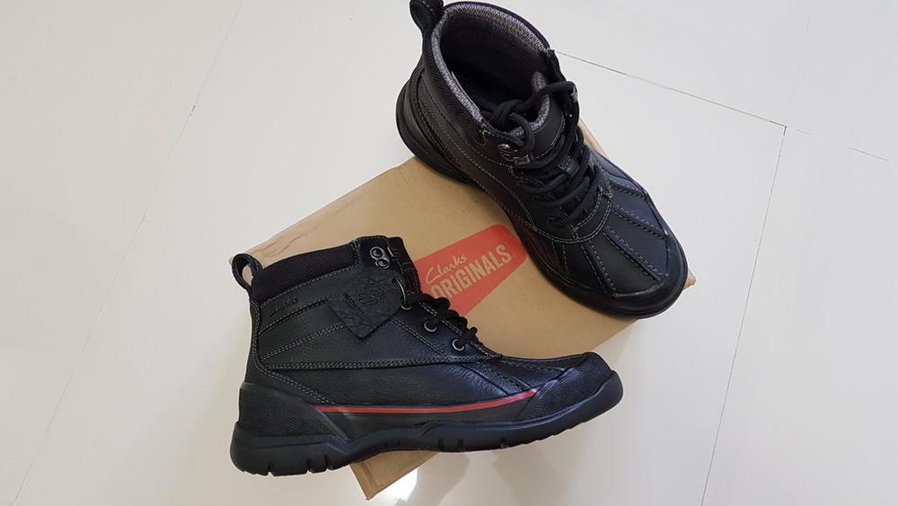 Clarks.оригинал! зимние ботинки.р-6(40). фото № d9c56d034e467