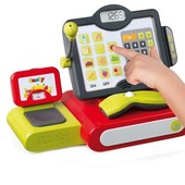 Детская электронная касса со сканером и сенсорным экраном Smoby 350102