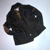 Крутой вельветовый пиджак на 1-2 года