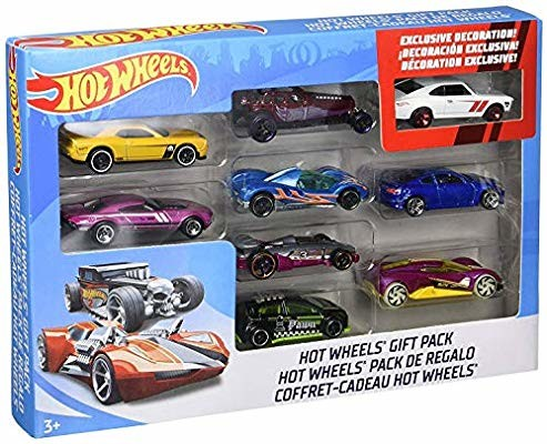 Набор машинок хот вилс 9 шт hot wheels 9-car gift pack фото №1