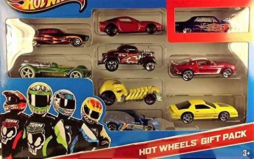 Набор машинок хот вилс 9 шт hot wheels 9-car gift pack фото №2