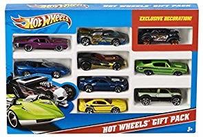 Набор машинок хот вилс 9 шт hot wheels 9-car gift pack фото №3