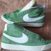 Замшевые фирменные кроссовки кеды Nike р.43-27.5см.