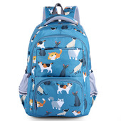 Рюкзак кошки, синий Vivisecret