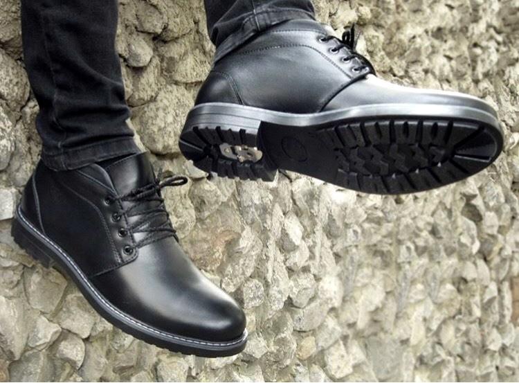 30af10a0 Стильная классика, красивейшие зимние ботинки из 100%кожи, метал шип,  качество гарантирую