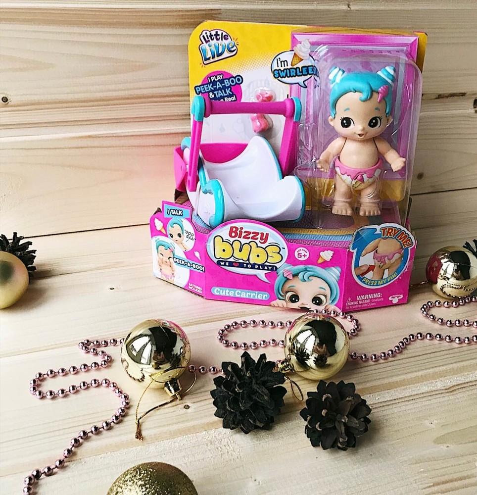 Интерактивная кукла-пупс bizzy bubs фото №1