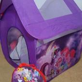 Детская палатка домик My Little Pony 8009 114*102*112 см в сумке