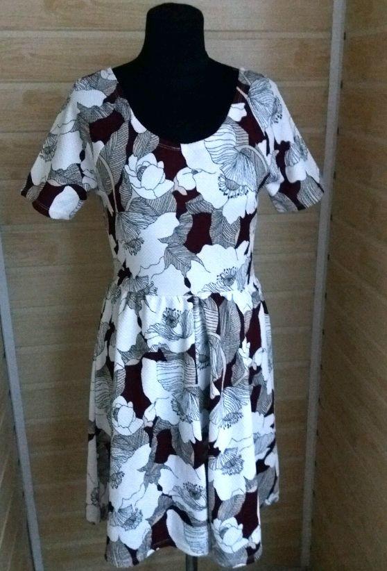 Вафельное платье р.l dorothy perkins фото №1
