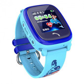 Детские часы Smart baby watch DF25G blue Уценкa