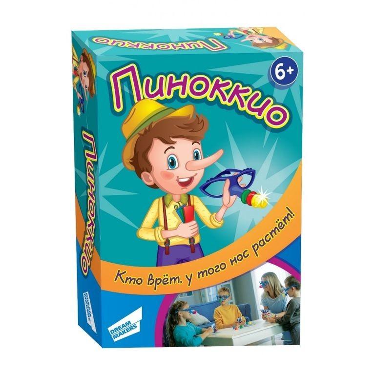 Настольная игра пиноккио. пинокио. пiнокiо. дриммейкерс фото №1