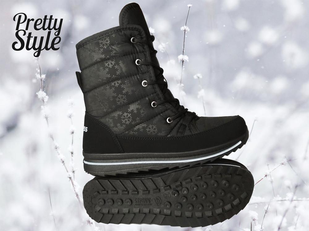 Дутики женские зимние ботинки угги pretty style 2 фото №4
