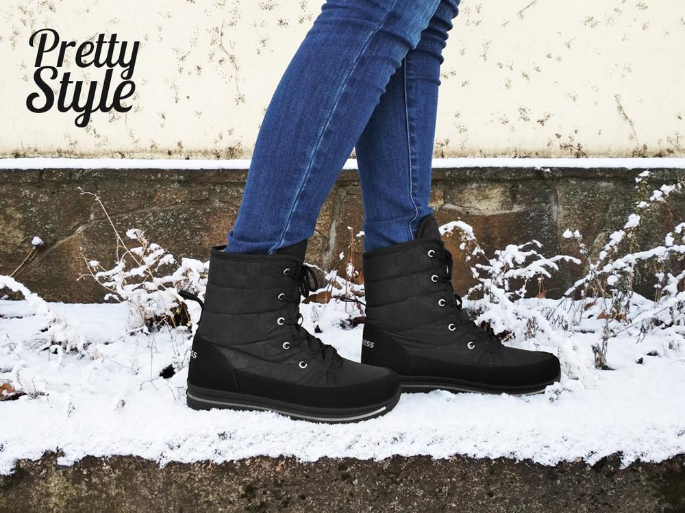 Дутики женские зимние ботинки угги pretty style 2 фото №5