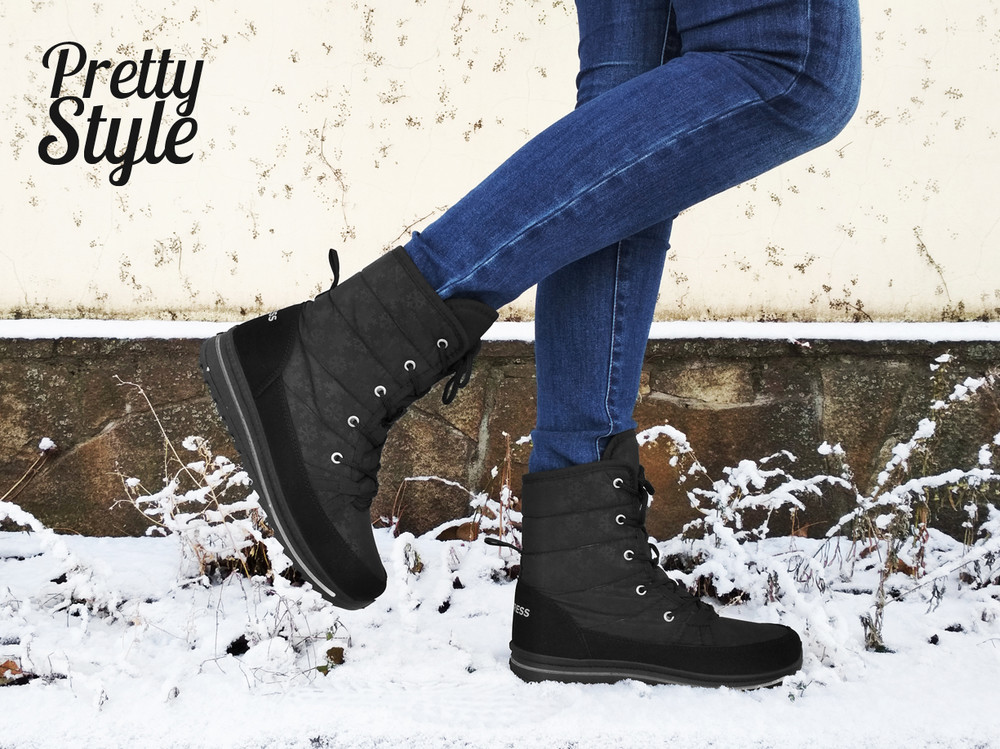 Дутики женские зимние ботинки угги pretty style 2 фото №6