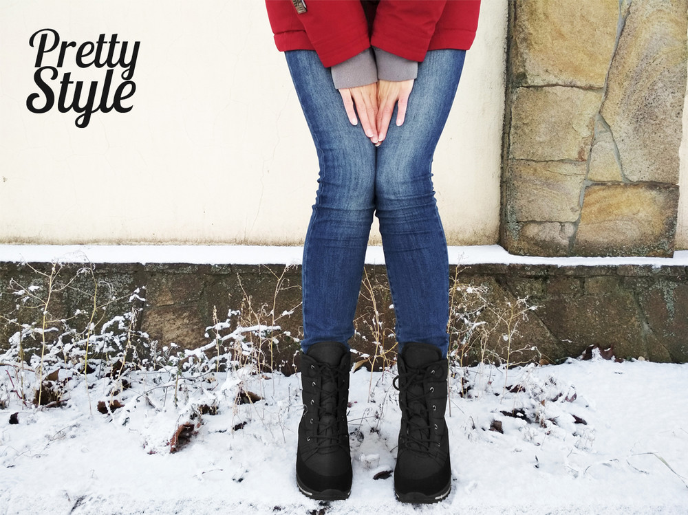 Дутики женские зимние ботинки угги pretty style 2 фото №7