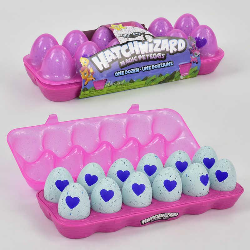 """Лоток с питомцами в яйце """"hatchimalls"""" 719/12 шт фото №1"""