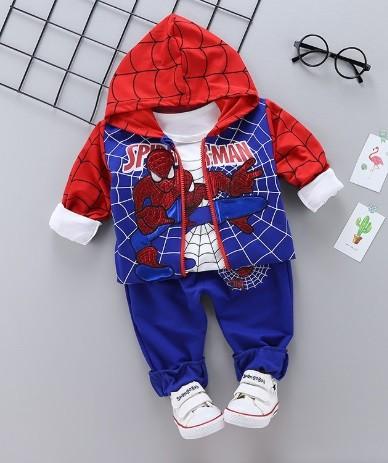Спортивный костюм тройка человек паук. р 80 фото №1