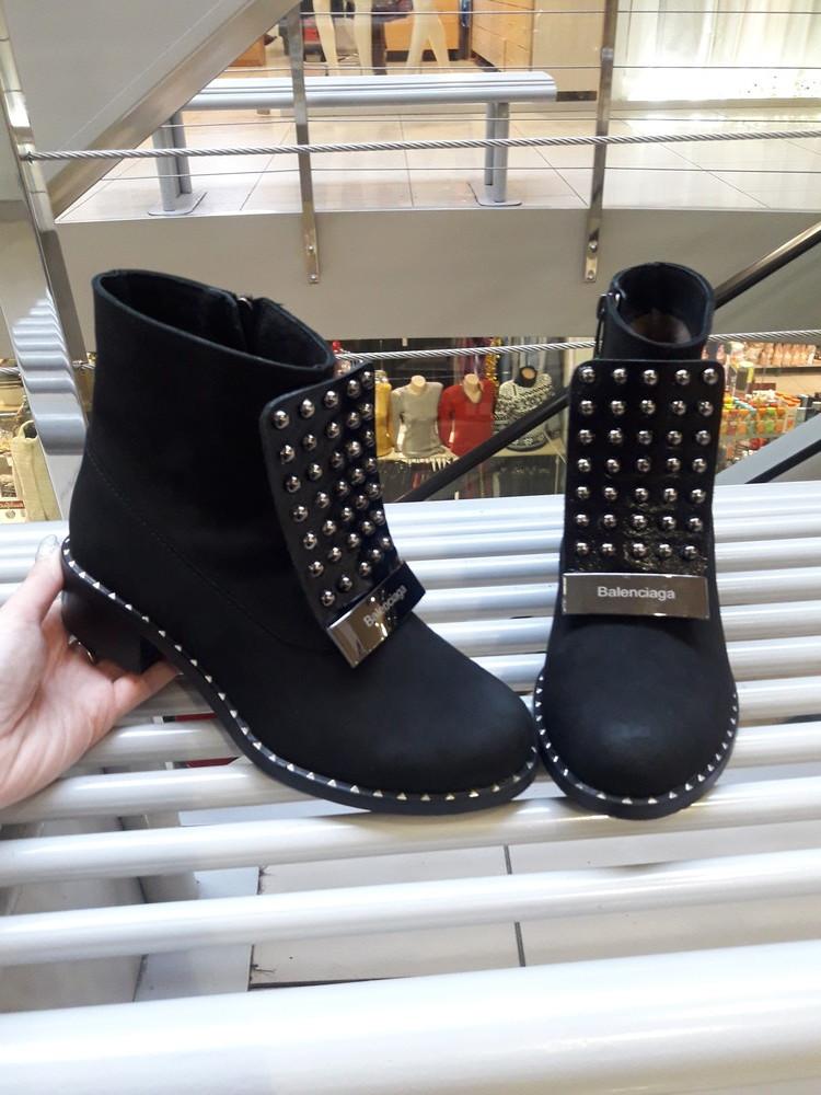 Стильные ботинки деми фото №1
