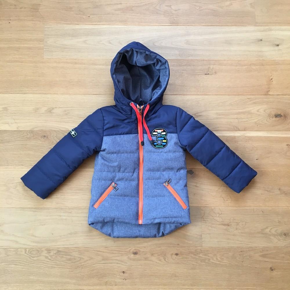Демисезонная куртка мальчик 3 - 7 лет, есть замеры 98,104,110,116 фото №1