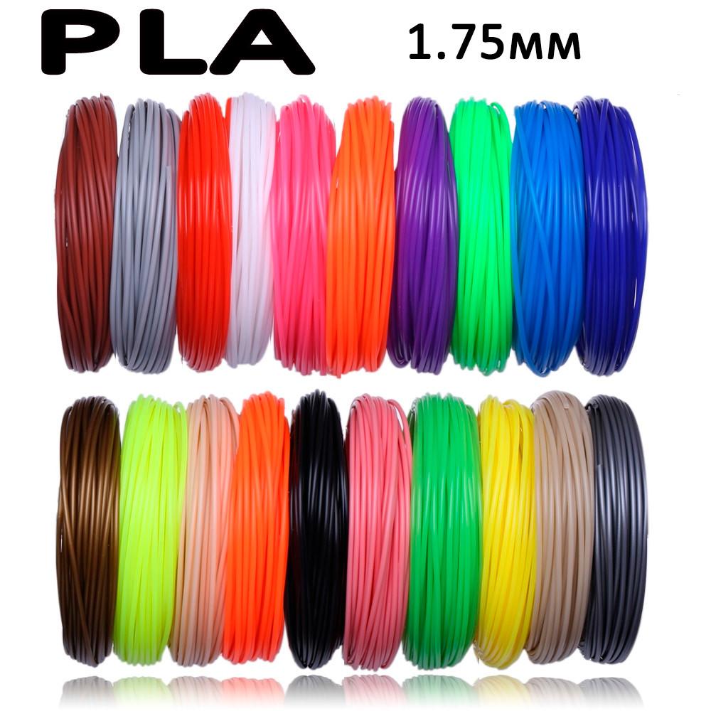 Комплект 17 цветов pla пластика пла для 3d ручки 170 метров фото №1